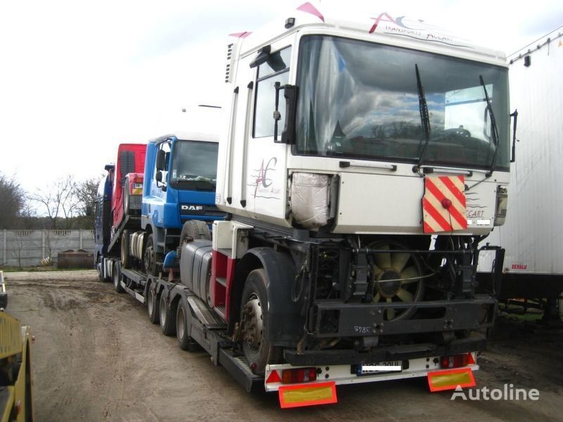 RENAULT MAGNUM 440 DXI SPROWADZONA Z FRANCJI tractora después del accidente