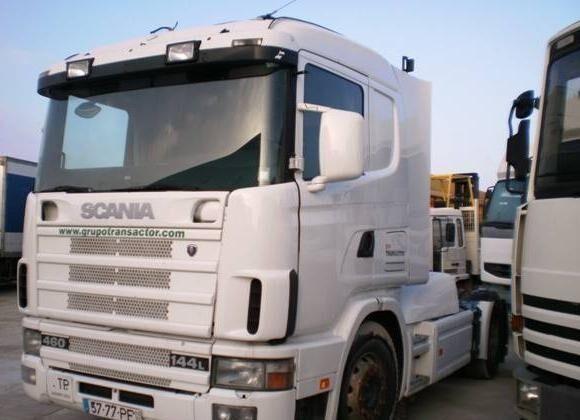 SCANIA L 144L460 tractora