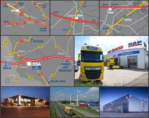 Zona comercial ESA Trucks Polska Sp. z o.o.