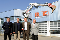 Zona comercial BUK Bregler und Klöckler GmbH Baumaschinen