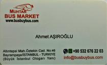Zona comercial Muhtar Bus Market Turkiye