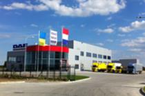 Zona comercial DAF Truck Centre Lviv
