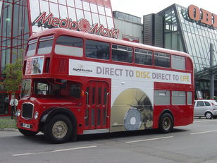 Bristol LODEKKA Low Height British Double Decker Bus Marketing Training