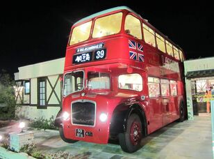 BRITISH BUS mobile RESTAURANT CAFE CATERING London traditional & modern Lond