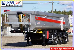 OZGUL 26/ 28 m³ MEGA Trailers Half-Pipe tipper HARDOX 450 READY TO GO nuevo