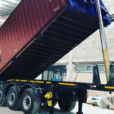 EMIRSAN Slightly Used 20 Ft Tipping Container Carrier semi trailer