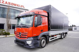 MERCEDES-BENZ Actros 2536 , E6 , MEGA , 6x2 , box + lifting roof , 2x side ope