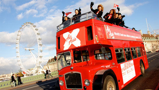 BRITISH BUS Tourist City Sightseeing open top traditional & modern London bu autobús de dos pisos
