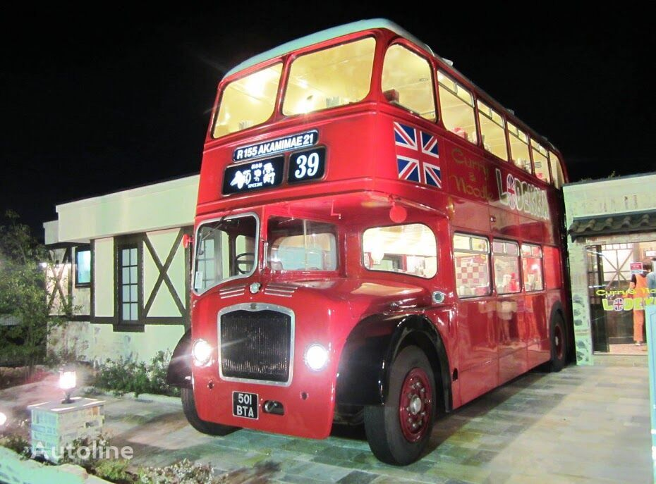 BRITISH BUS mobile RESTAURANT CAFE CATERING London traditional & modern Lond autobús de dos pisos
