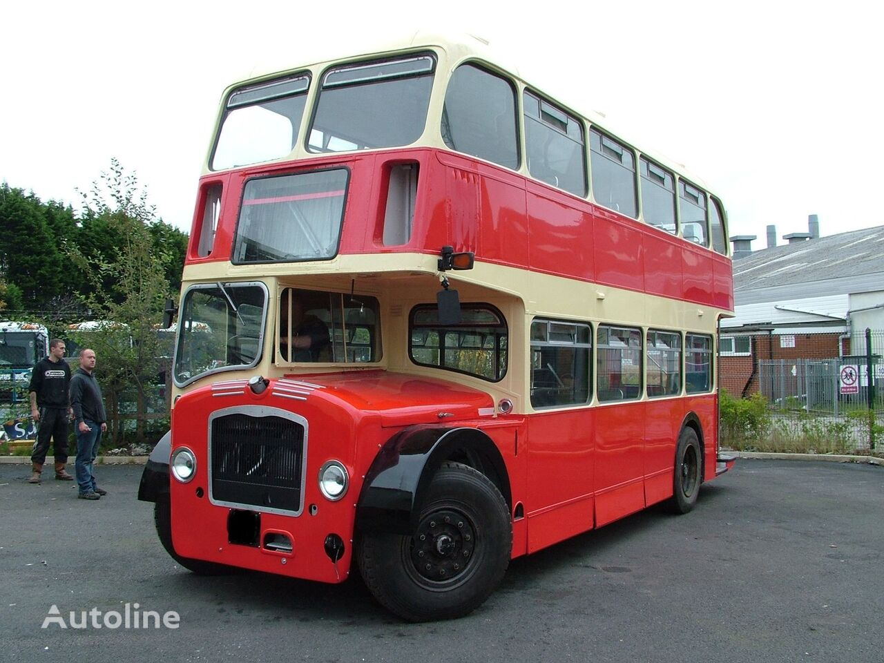 Bristol LODEKKA Low Height British Double Decker Bus Excellent Condition autobús de dos pisos