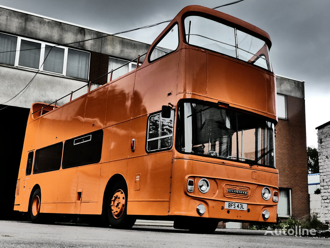 Leyland Atlantean British Double Decker mobile bar autobús de dos pisos