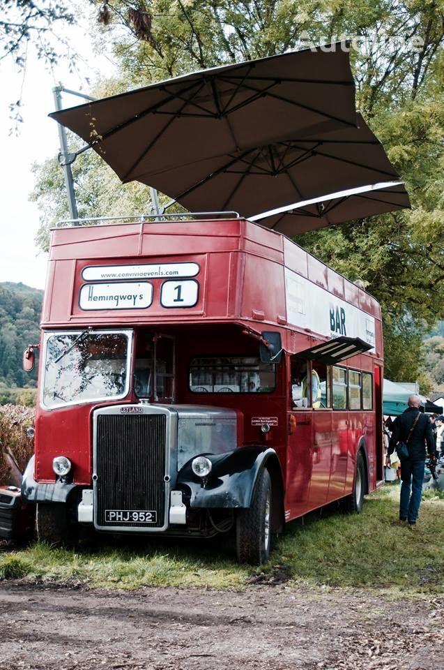 Leyland PD3 British Double Decker Bus Open Top Deck  Pub Bar Hospitality autobús de dos pisos