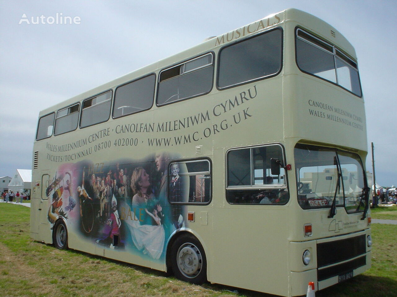 MCW METROBUS British Double Decker Bus Marketing Exhibition Training autobús de dos pisos