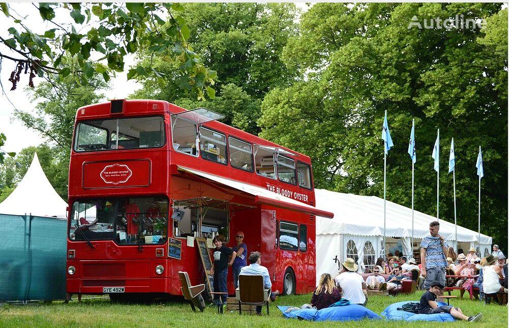 MCW METROBUS British Double Decker Bus Pub Bar Cafe Restaurant autobús de dos pisos