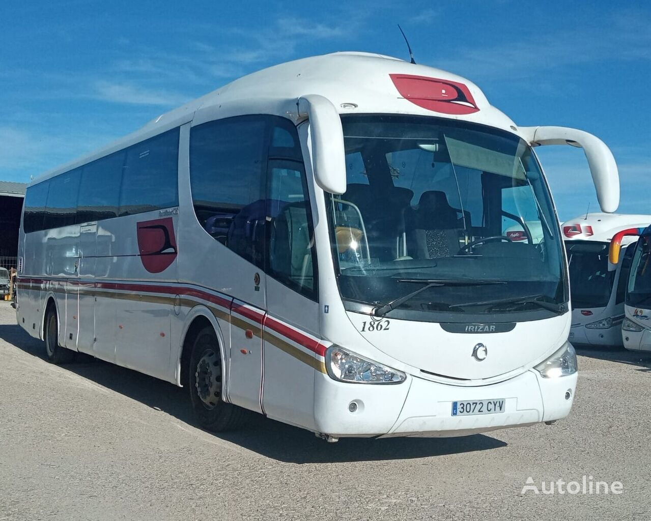 IVECO  D - 43  - IRIZAR PB + WC autobús de turismo