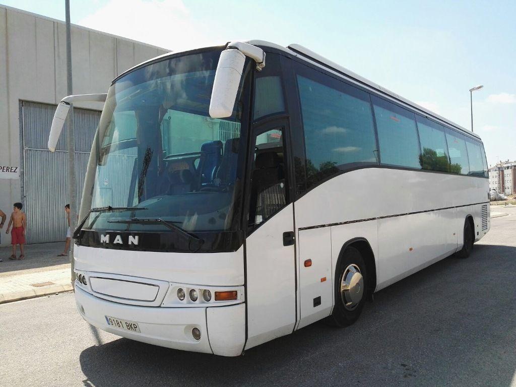 MAN 18.400 autobús de turismo