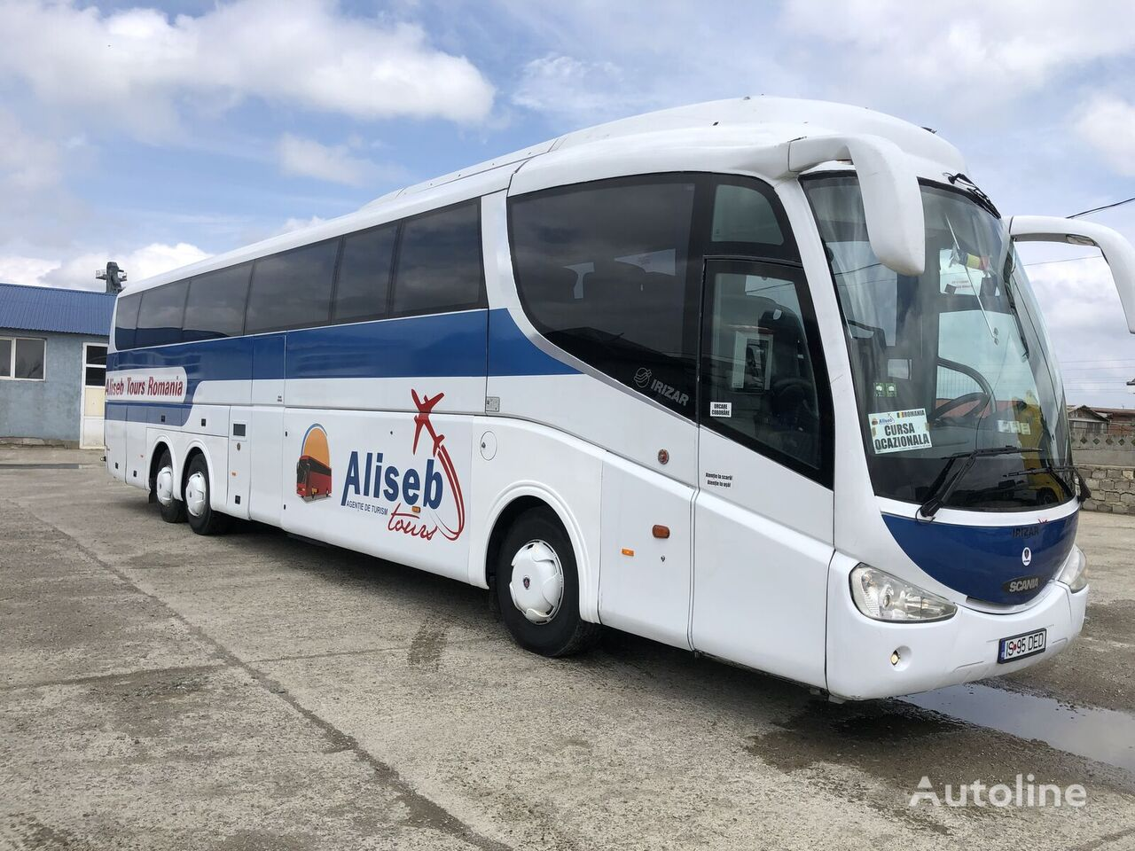 autobús de turismo SCANIA IRIZAR PB HDH