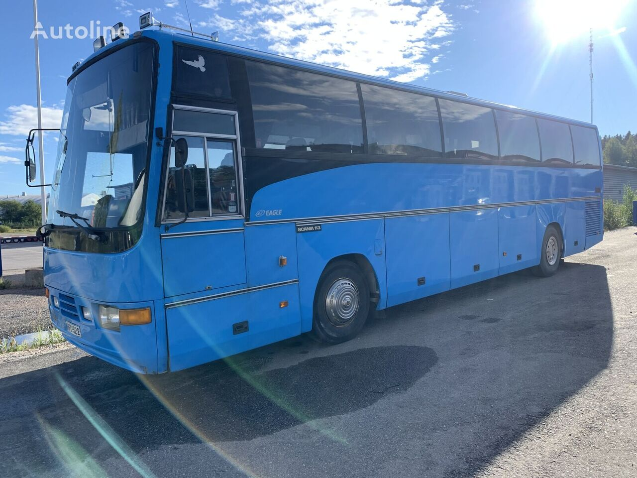 SCANIA K113 320 hp manual autobús de turismo