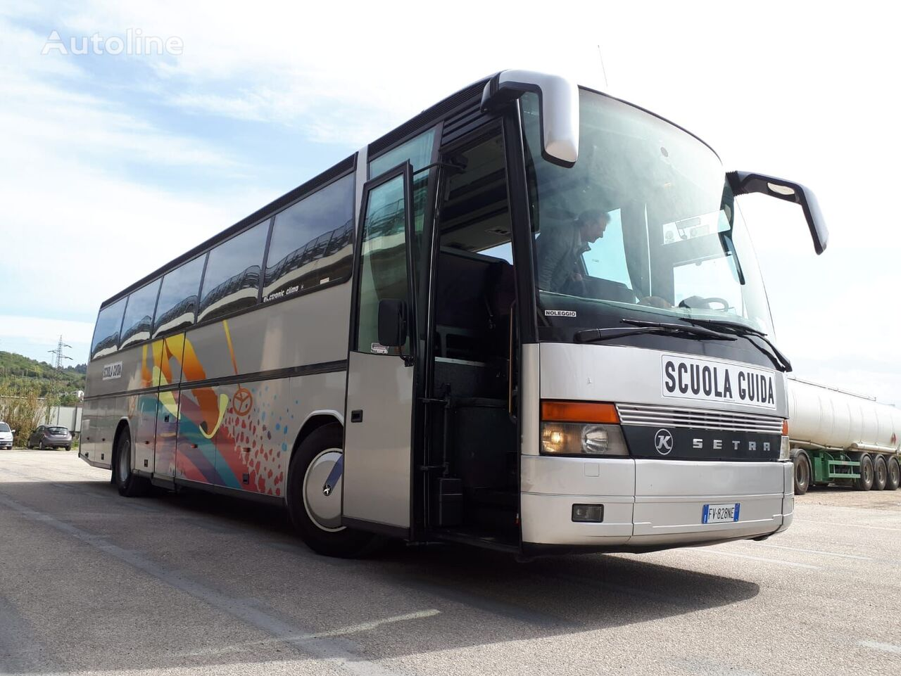 SETRA AUTOBUS SCUOLA GUIDA / AUTOSCUOLA VARI MODELLI autobús de turismo