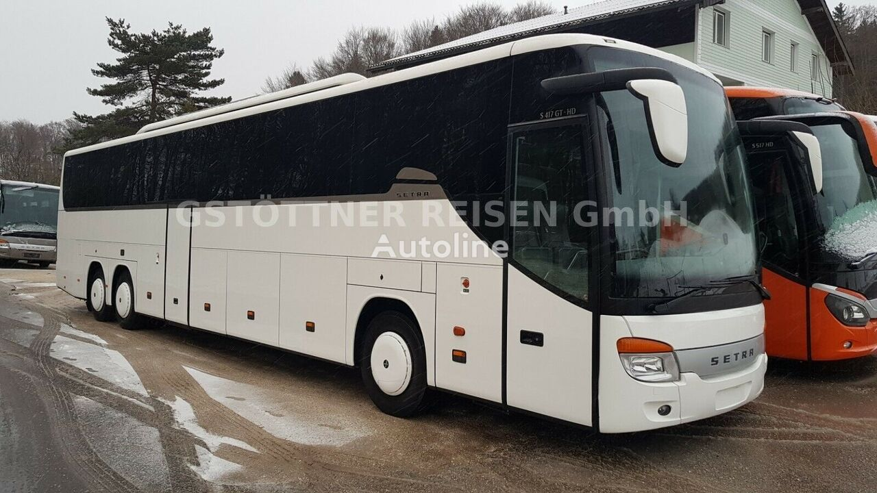 SETRA S 417 GT HD/EEV/60 SS/ART/6 G Manual/FINAL EDITION/TOP!!! autobús de turismo