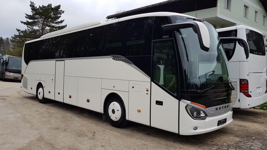 autobús de turismo SETRA S 515 HD /53 SS/EURO 6/AUSTRIAN BUS-FIRST OWNER/TOP!!!