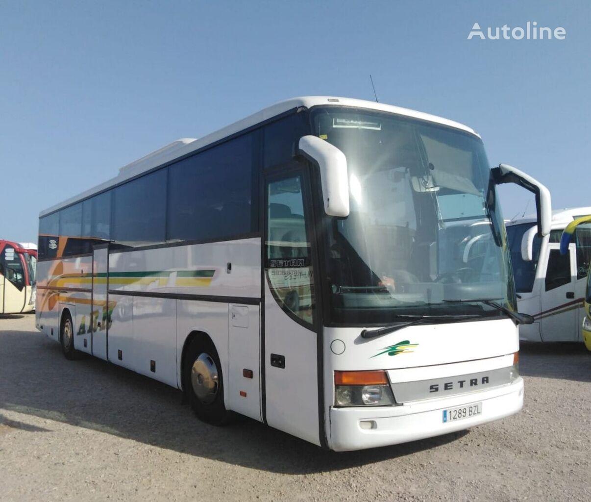 autobús de turismo SETRA S315 GT HD MOTOR MERCEDES + 435 CV