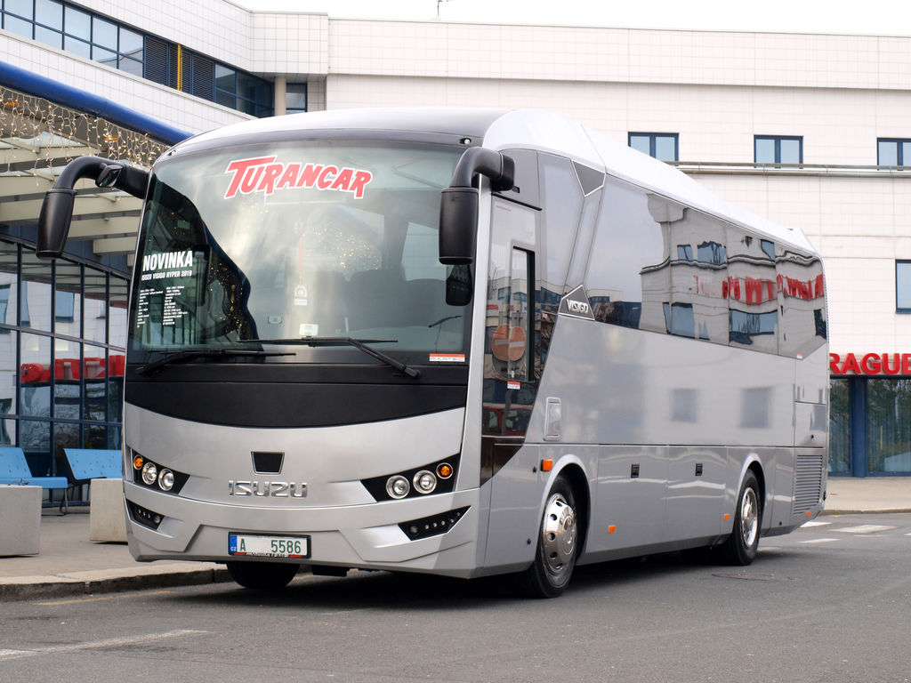 autobús interurbano ISUZU VISIGO nuevo
