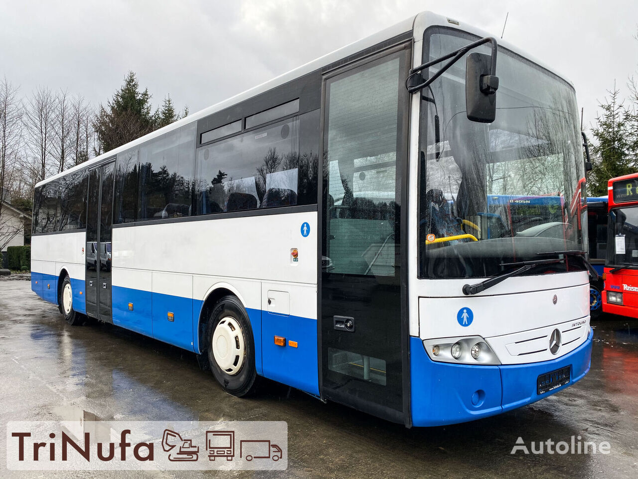 MERCEDES-BENZ Intouro   org. KM   Schaltgetriebe   Euro 5    autobús interurbano