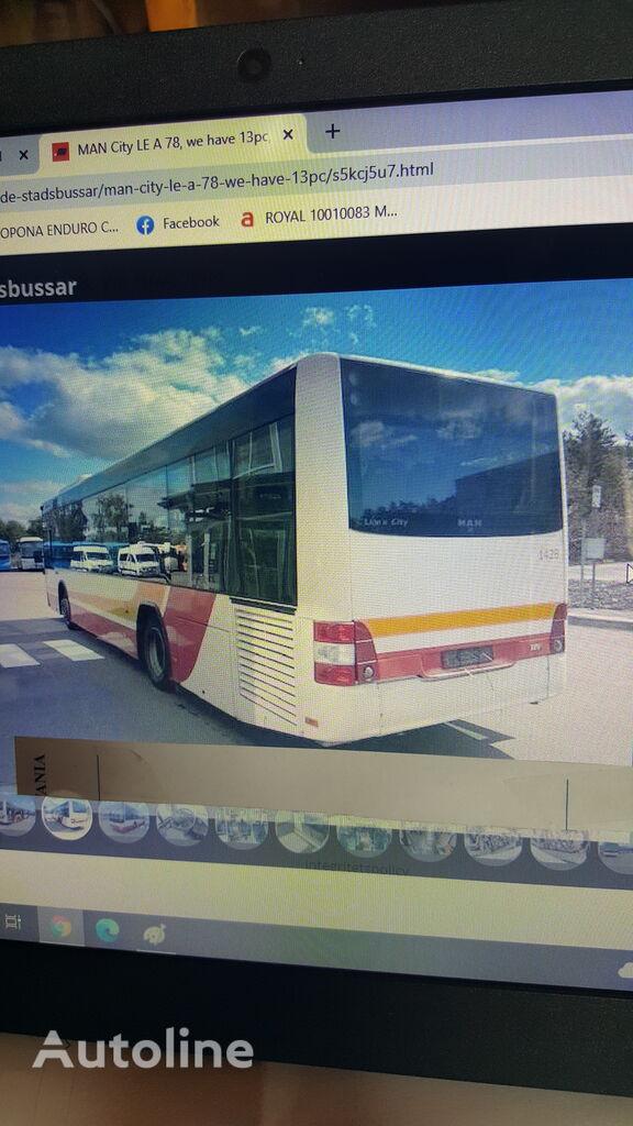 MAN MAN CITY LE A 78 autobús urbano