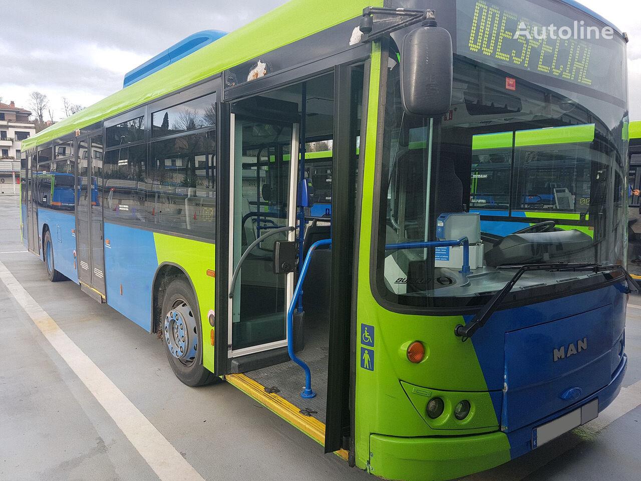 autobús urbano MAN NL 263 F BURILLO LUXOR 12mts.