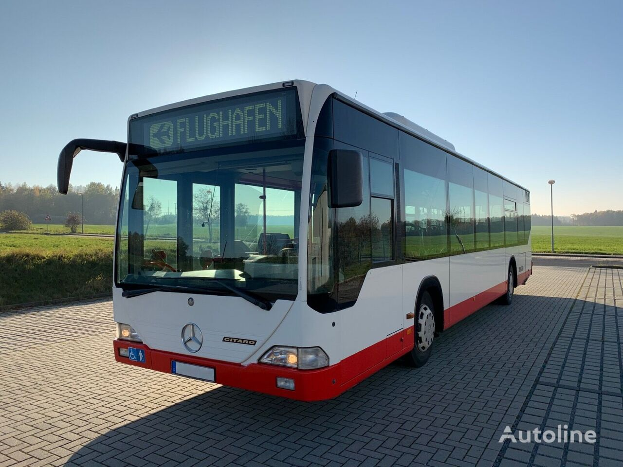 MERCEDES-BENZ O 530N mit AC - ZF-Automatik autobús urbano