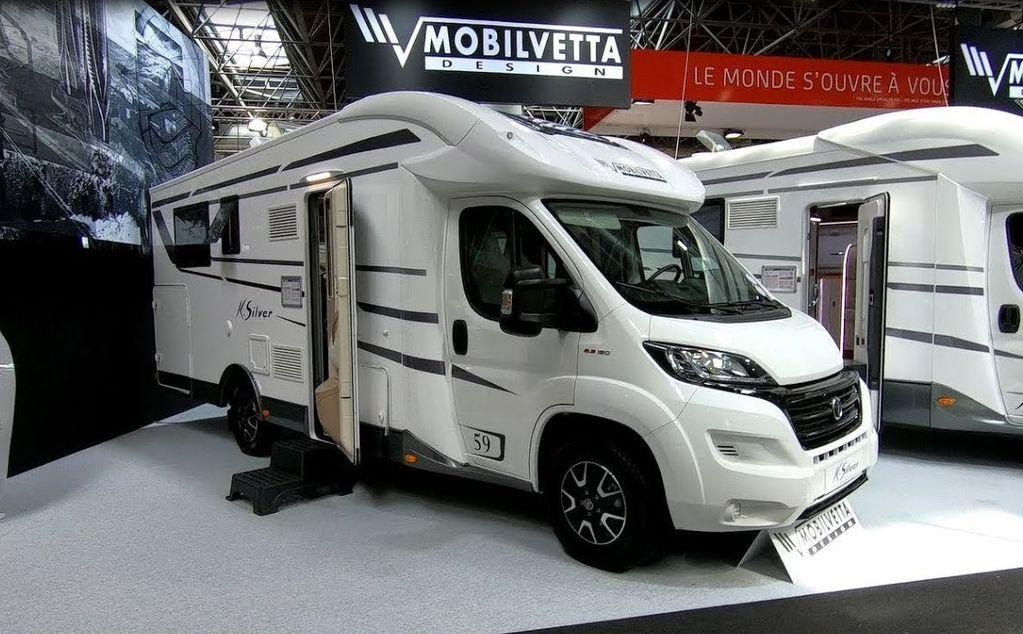 FIAT Mobilvetta K-SILVER 59,Premium Luxury SemiIntegrate Model 2020,P autocaravana nueva
