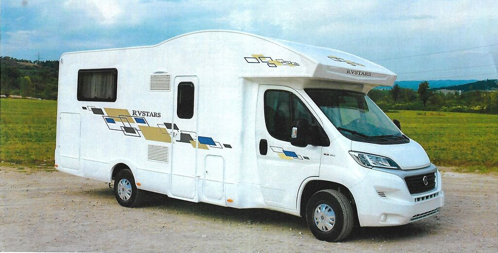 autocaravana FIAT RVSTARS 95 PLUS,5 LOCURI,Model 2020 nueva