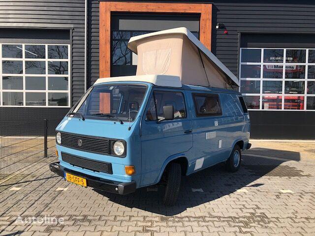 VOLKSWAGEN T3 Reimo Camper met hefdak gerestaureerd autocaravana