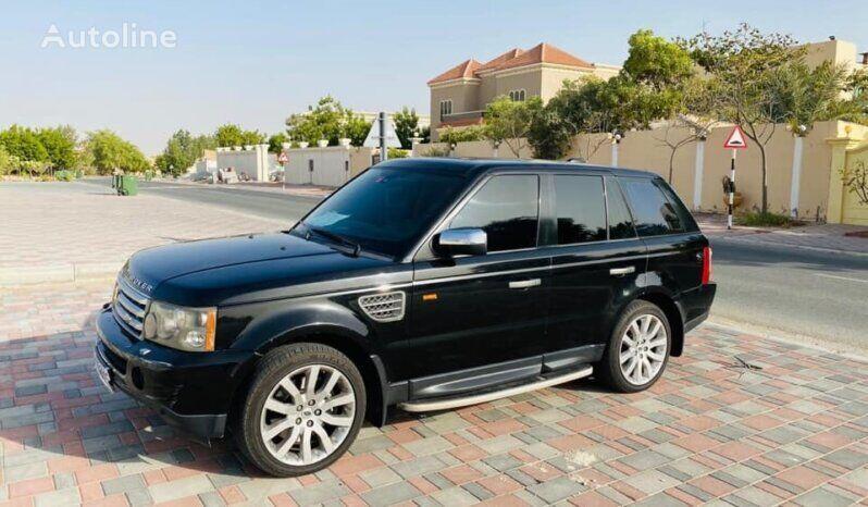 Range Rover SPORT SUPER CHARGED GCC BLACK VUD