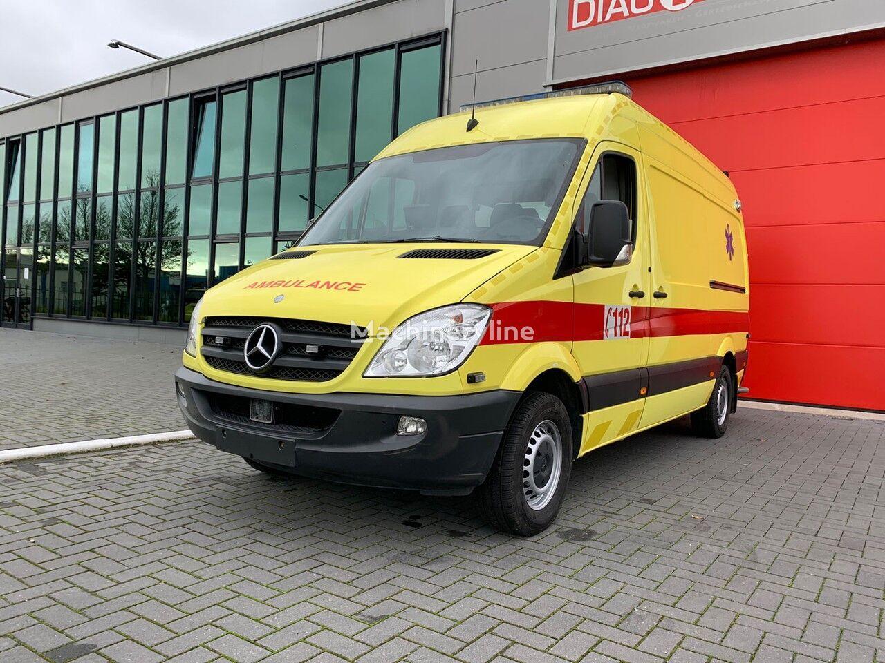 MERCEDES-BENZ 316 CDI Ambulance Belgian registration ambulancia