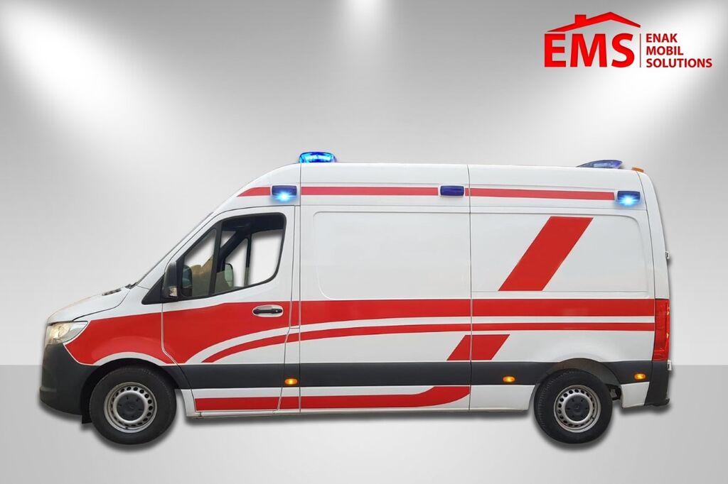 MERCEDES-BENZ SPRINTER 316 CDİ AMBULANCE ON STOCK ambulancia nueva