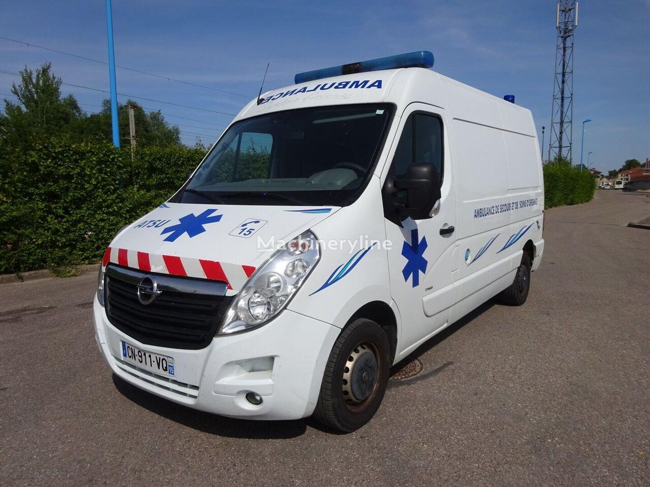 OPEL MOVANO L2H2 2012 ambulancia