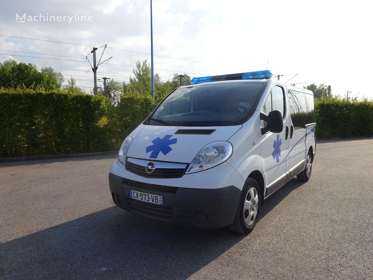 OPEL VIVARO L1H1 115 CV 2013 ambulancia