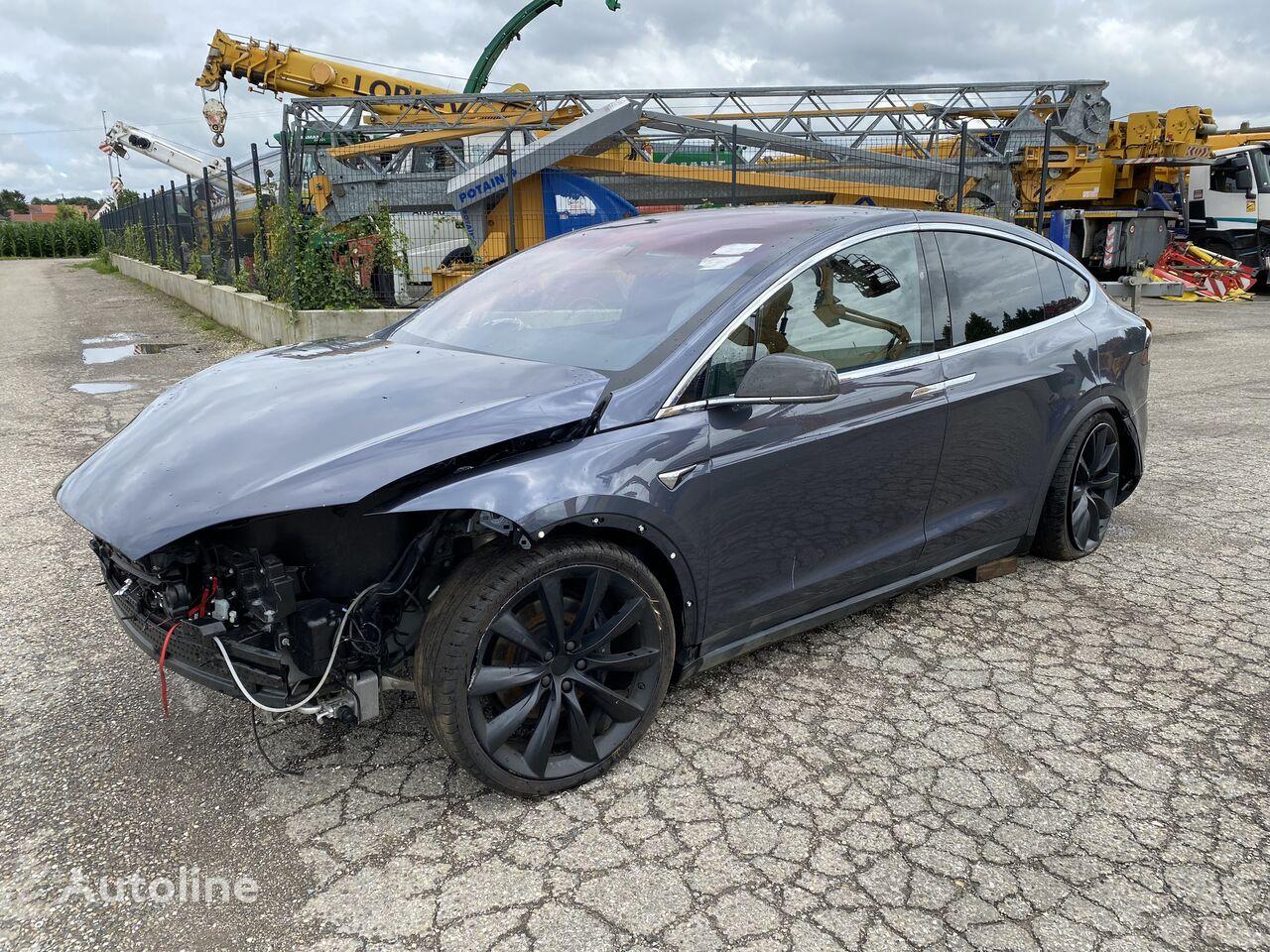 Tesla MODEL X LongRange 6 places  berlina siniestrada