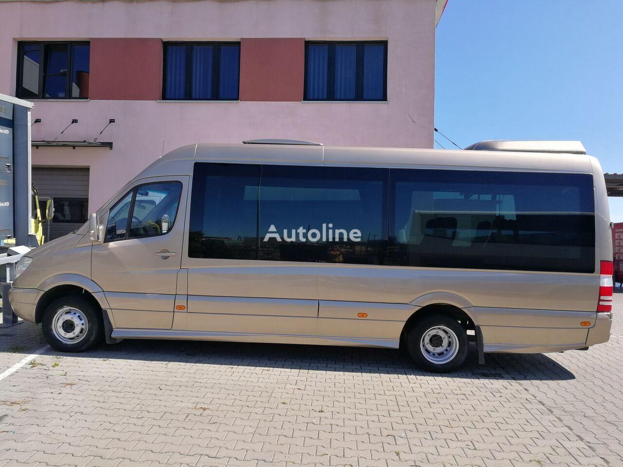 MERCEDES-BENZ 518 XXL SPROWADZONY furgoneta de pasajeros