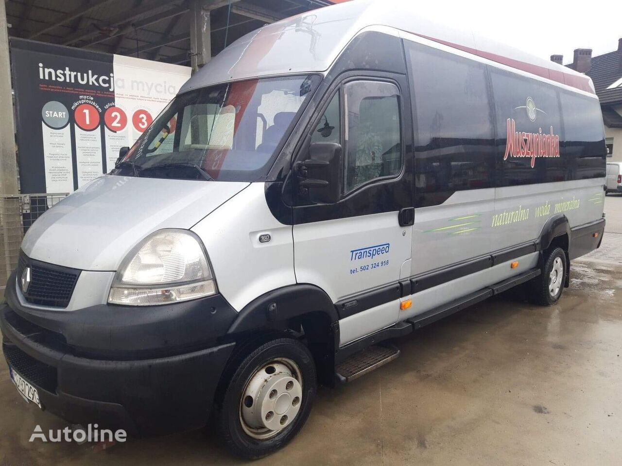 RENAULT Mascott furgoneta de pasajeros