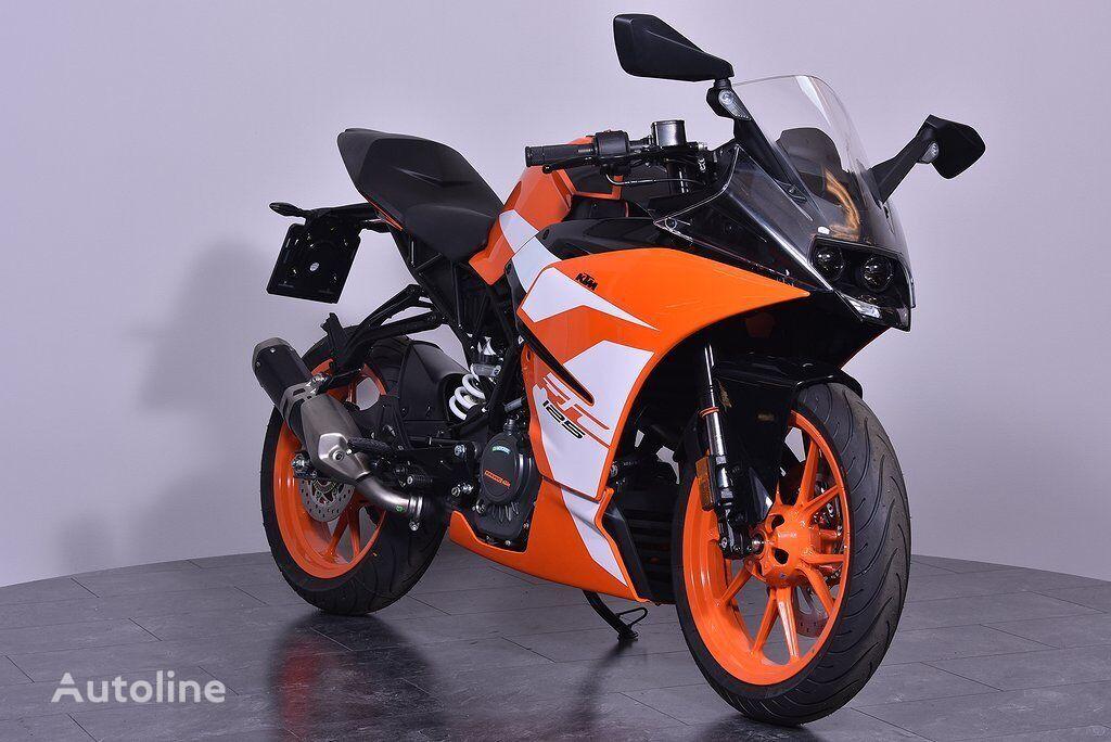 KTM RC 125 moto