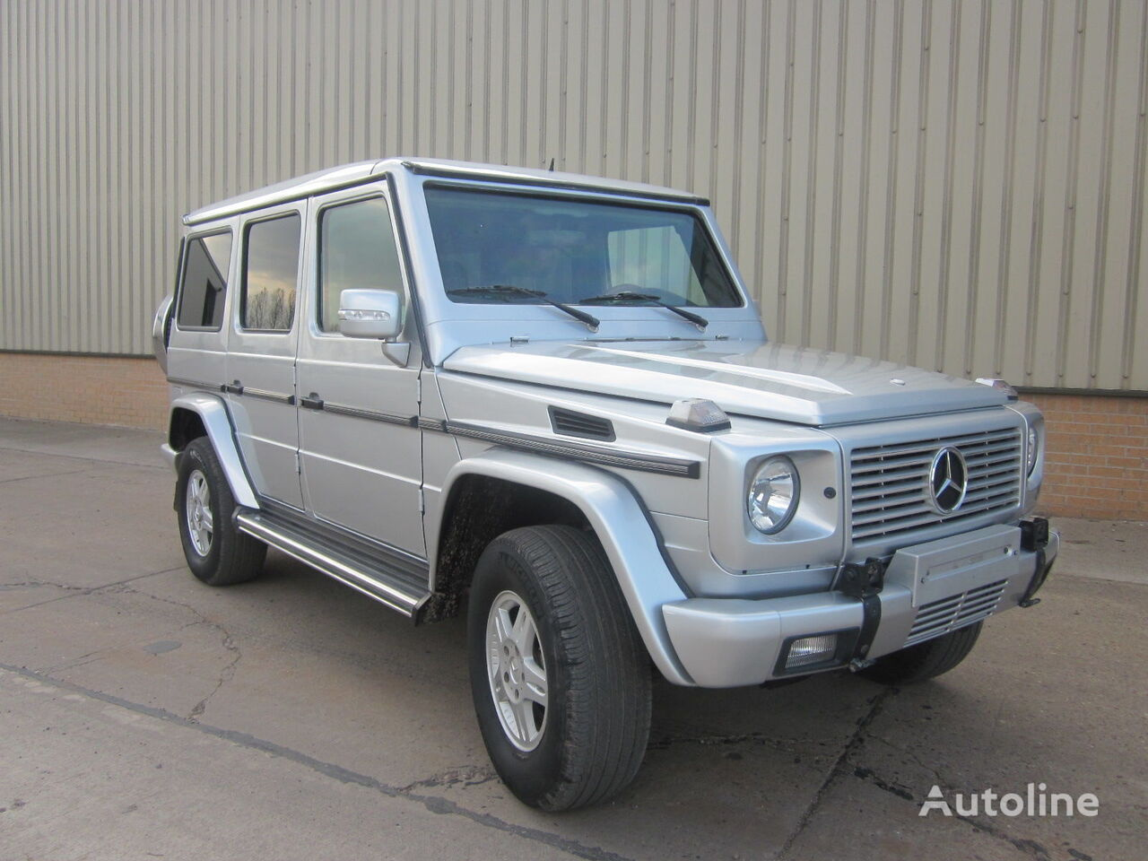 MERCEDES-BENZ G wagon 500 armoured B6 level pick-up