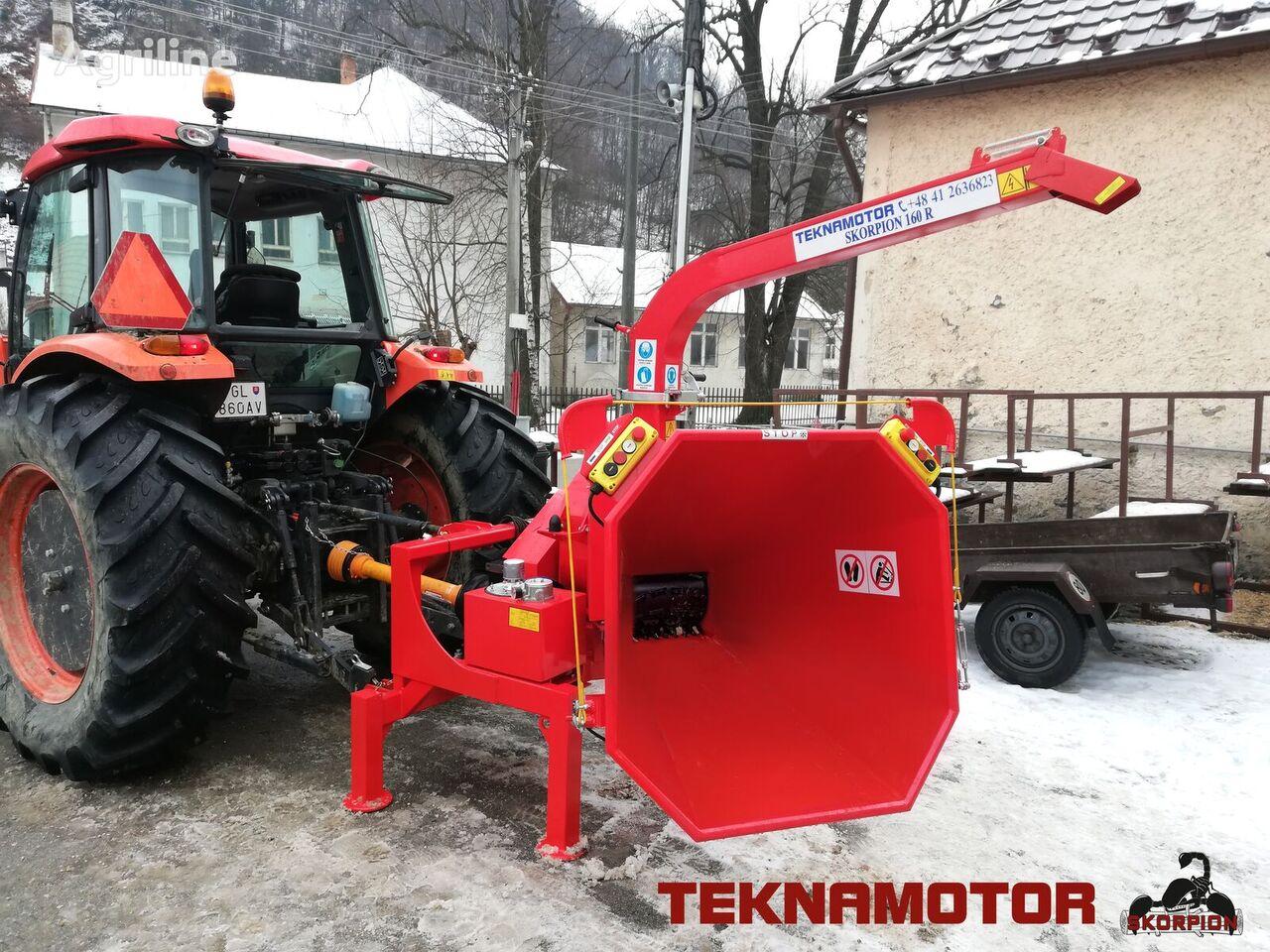 TEKNAMOTOR Skorpion 160 R biotrituradora nueva