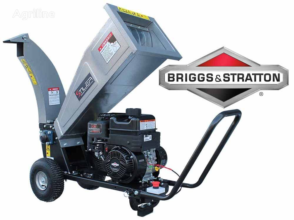 STILER RĘBAK SPR070, GASOLINE WOOD CHIPPER biotrituradora nueva