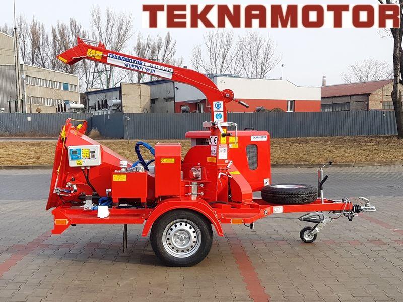 TEKNAMOTOR Skorpion 160SD biotrituradora nueva
