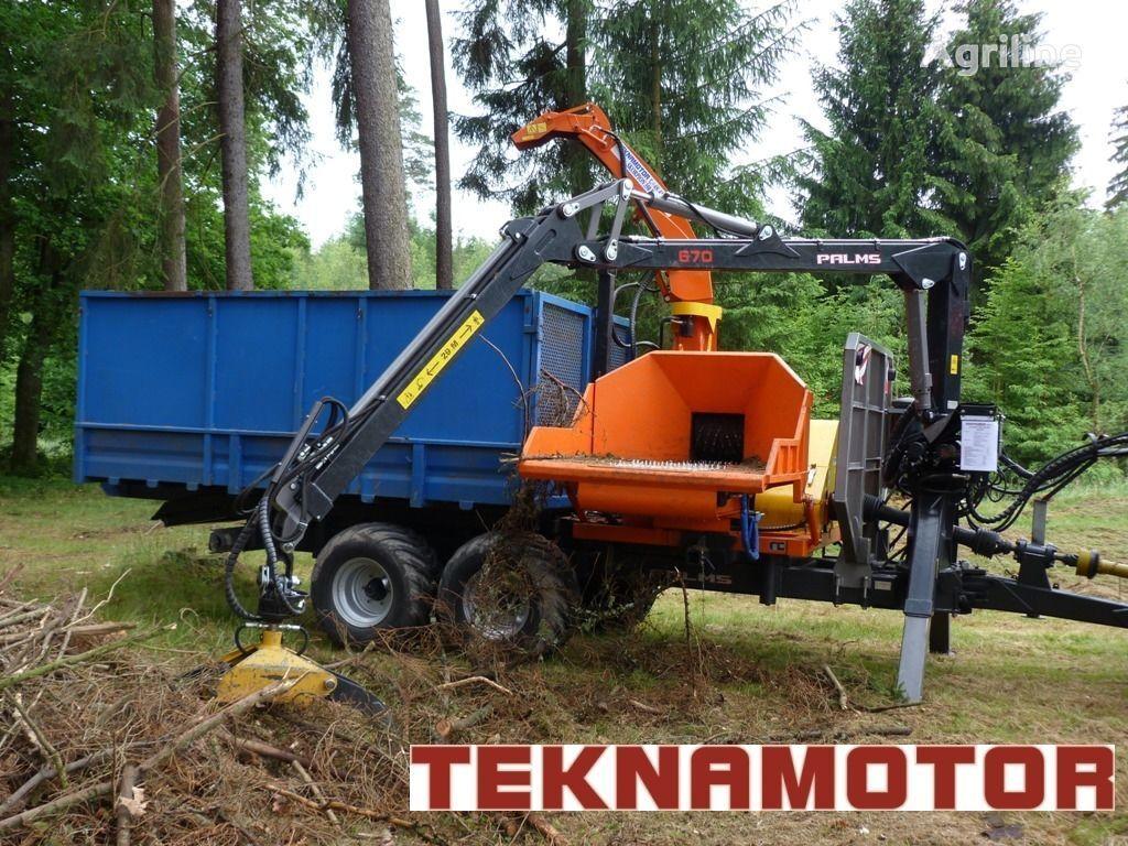 TEKNAMOTOR Skorpion 350 RBP biotrituradora nueva