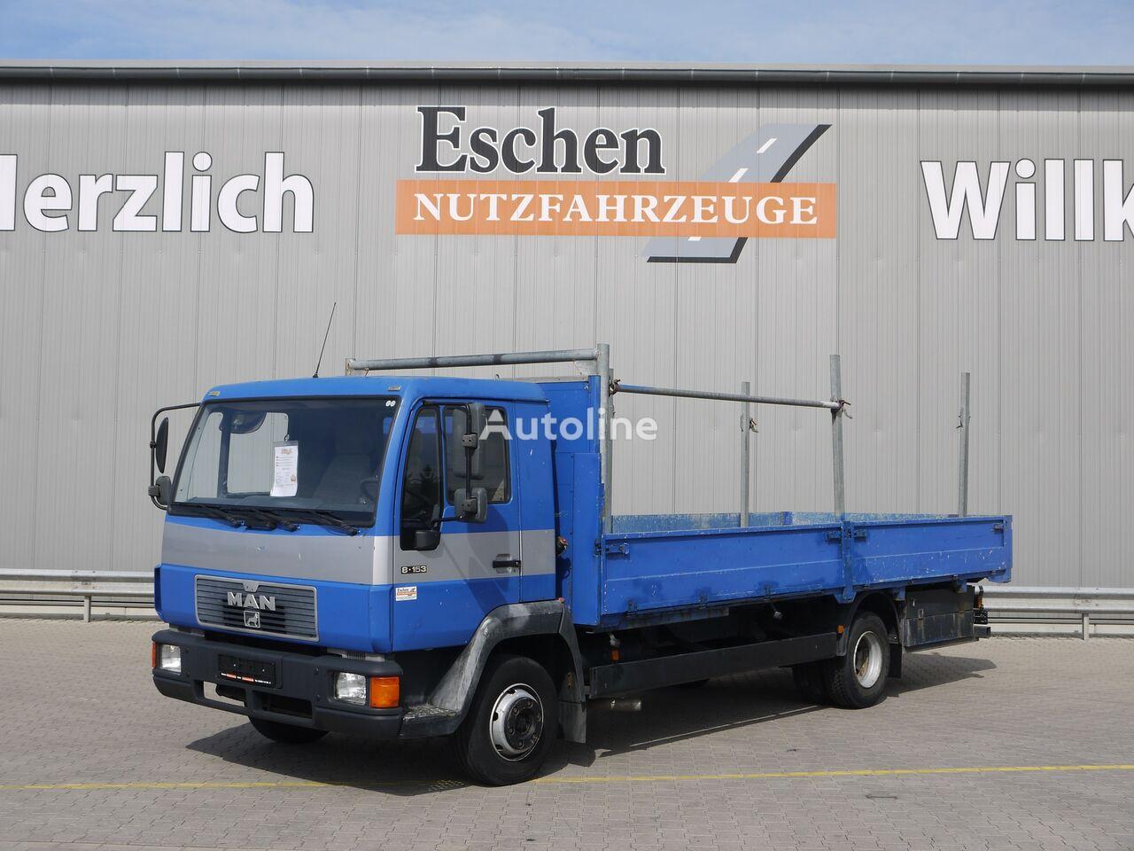 MAN 8.153 L, 4x2, 3 Sitzplätze  camión caja abierta
