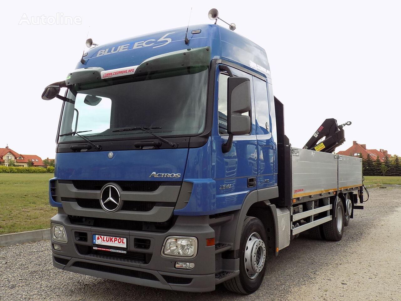 MERCEDES-BENZ ACTROS 2541  camión caja abierta